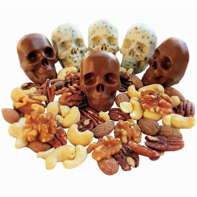 Bac à Glaçons 3D Tête de Mort 1