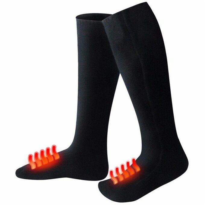 Chaussettes chauffantes 5