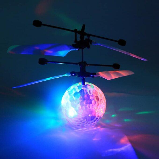 Cadeau de noël Rechargeable RC Ballon Jouet RC Hélicoptère Boule Shinning LED pour Enfants Coloré de Parcelles Enfants Jouets TSLM1 2